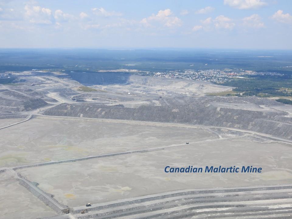 Canadian Malartic Mine, Quebec