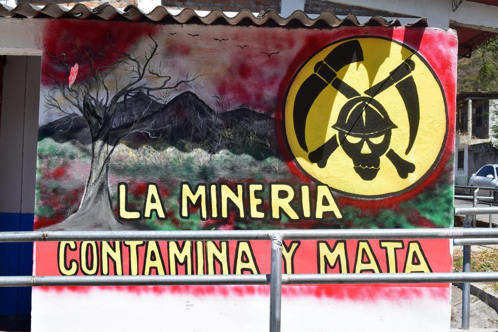 Mining pollutes and mining kills