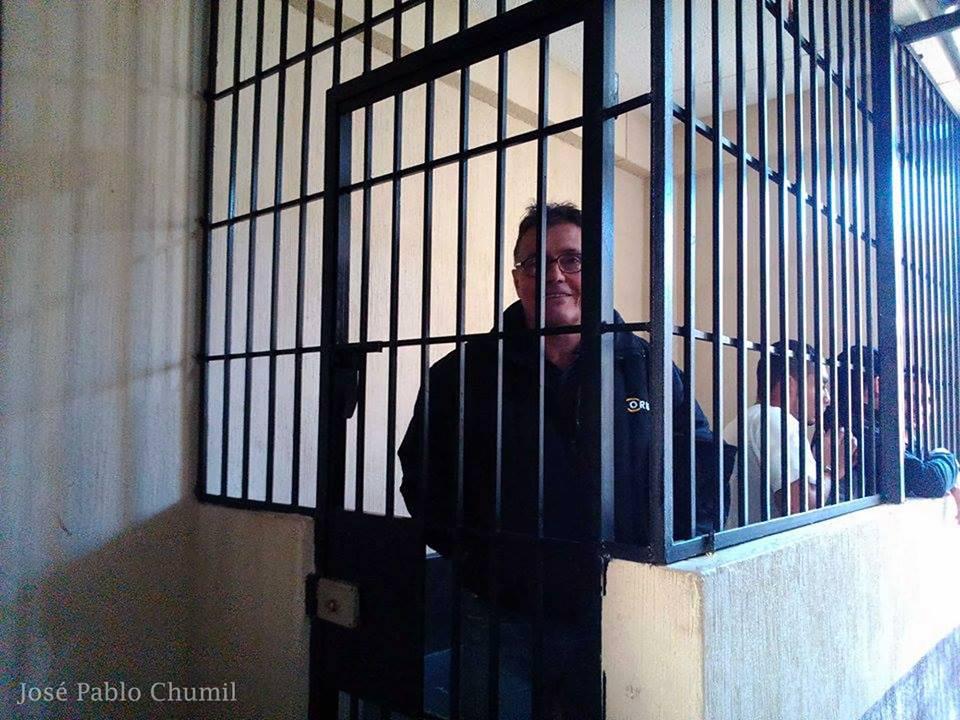 Alberto Rotondo in custody