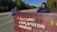 Algonquiens de Lac Barrrière disent non aux mines