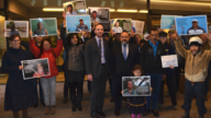 Guatemalan Delegation and CCIJ with Mining Justice Alliance at BC Court of Appeals, Nov 1, 2016