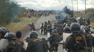 Peru mining protest