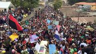 Thousands attend Berta Cáceres' burial in La Esperanza, Honduras; Photo: Telesur English