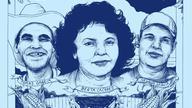 Berta Cáceres, Nelson García and Tomás García; Artist: Pat Perry