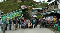Protest against renewal of OceanaGold's FTAA