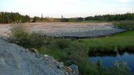JoJo Lake Tailings Remediation, June 2012