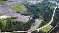 Abandoned Mine Waste Spill in QC 2008