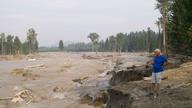 Mount Polley Mine Waste Spill in BC 2014 (@ChrisBlake)