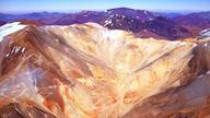 Barrick's exploration roads criss-cross the Pascua Lama area.
