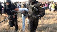 Violent evictions at El Estor - James Rodríguez photo