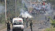 Military repression of Panama protests