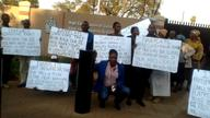 Mokopane Residents Picket Canadian High Commission