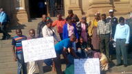 Mokopane residents at SAHRA office