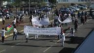 Demonstration against Prony
