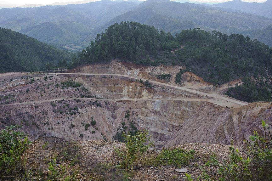 Aura Minerals' San Andrés mine, Copán, Honduras; Photo: Brian Atkinson