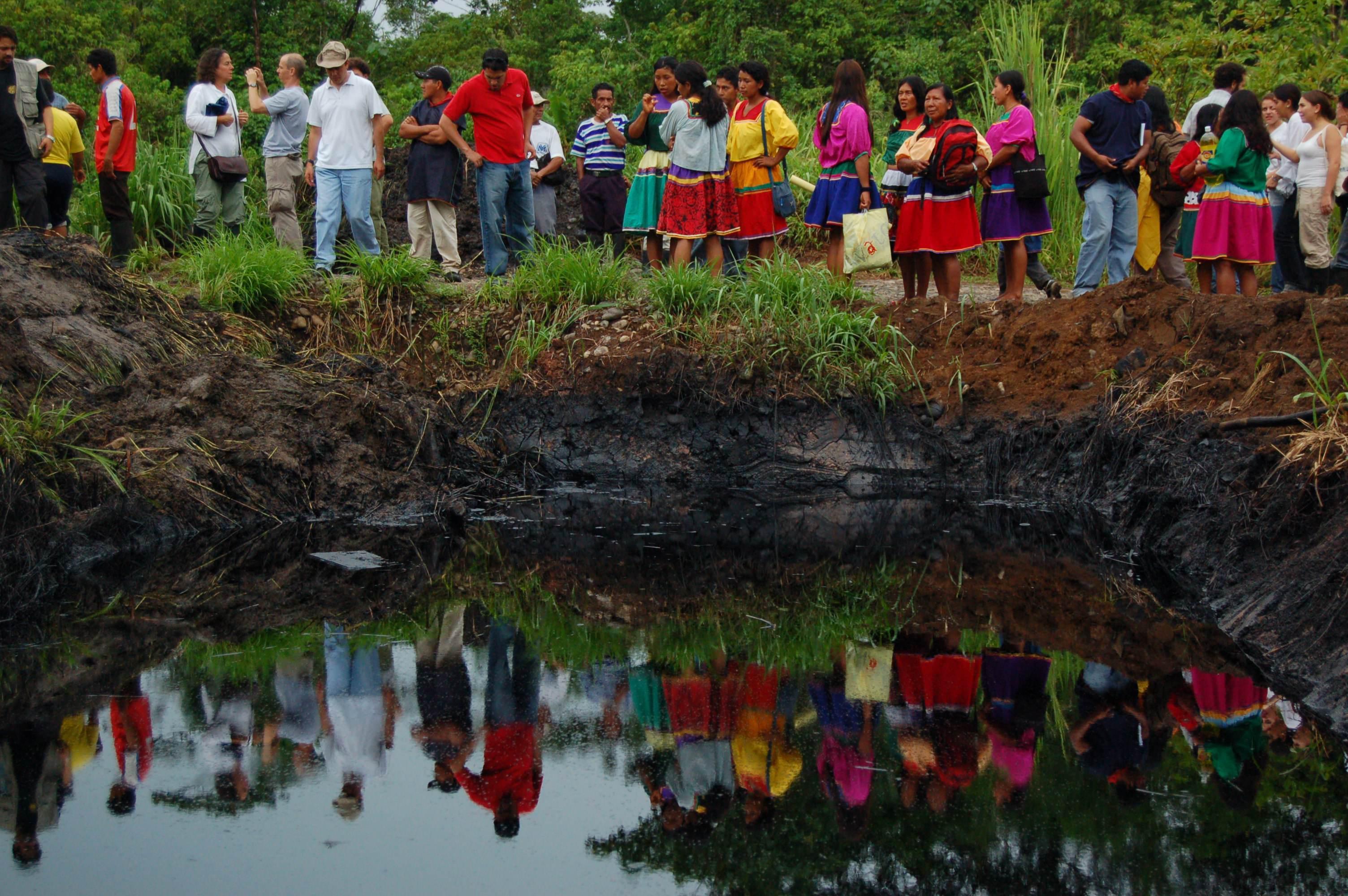 Oil pollution in Ecuador