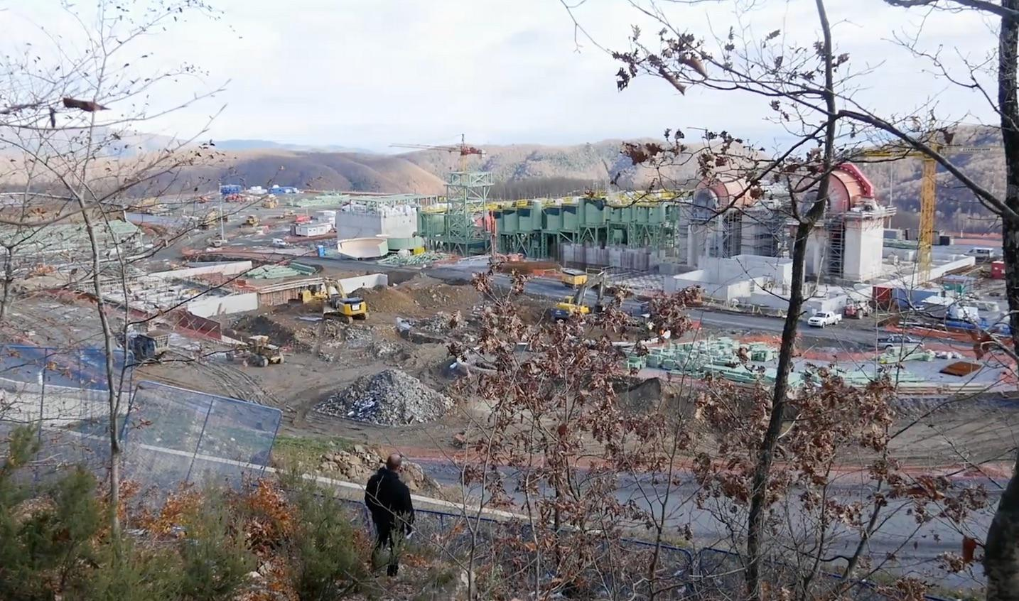 Construction at Skouries