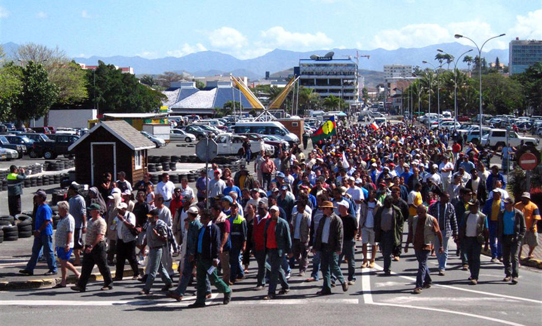 Goro protest