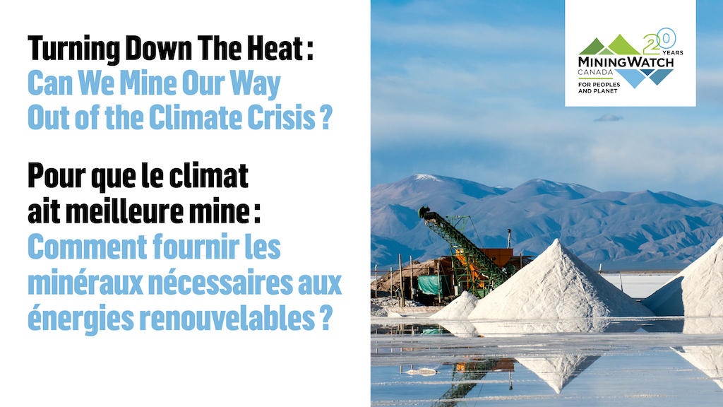Turning Down the Heat – Pour due le climat ait meilleure mine