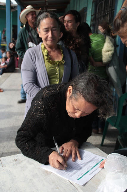 Decenas de miles de personas han votado en contra de la presencia de Tahoe Resources en Guatemala