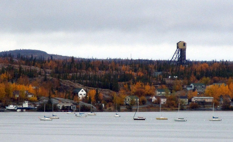 Giant Mine Townsite and Marina, September 2011
