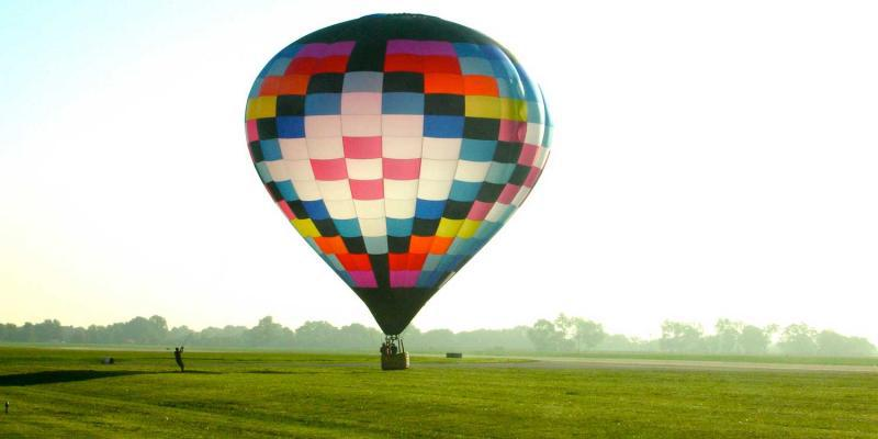 It takes a lot of hot air to keep the balloon afloat