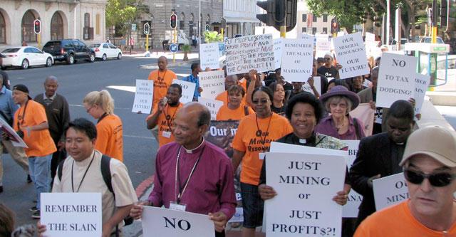 AMI protest