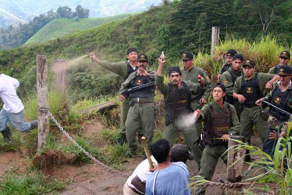 Attack at Junín