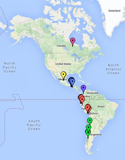Consultas map