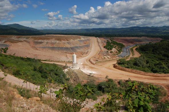 San Martin mine