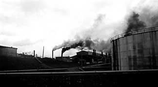 Inconesia - smelter stacks
