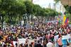 Marcha en Bucaramanga